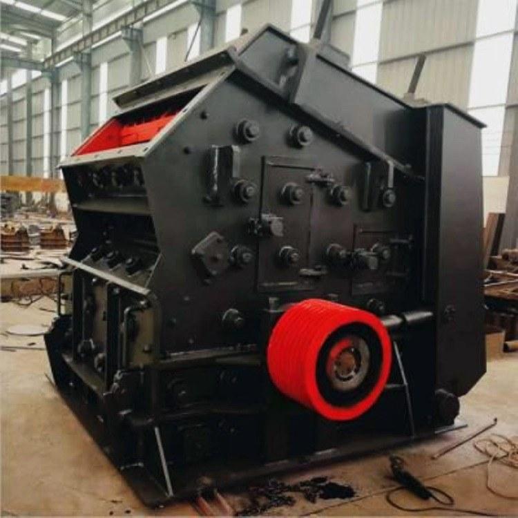 采德反击式碎石机 反击破干式制砂机 大型石子破碎机生产线