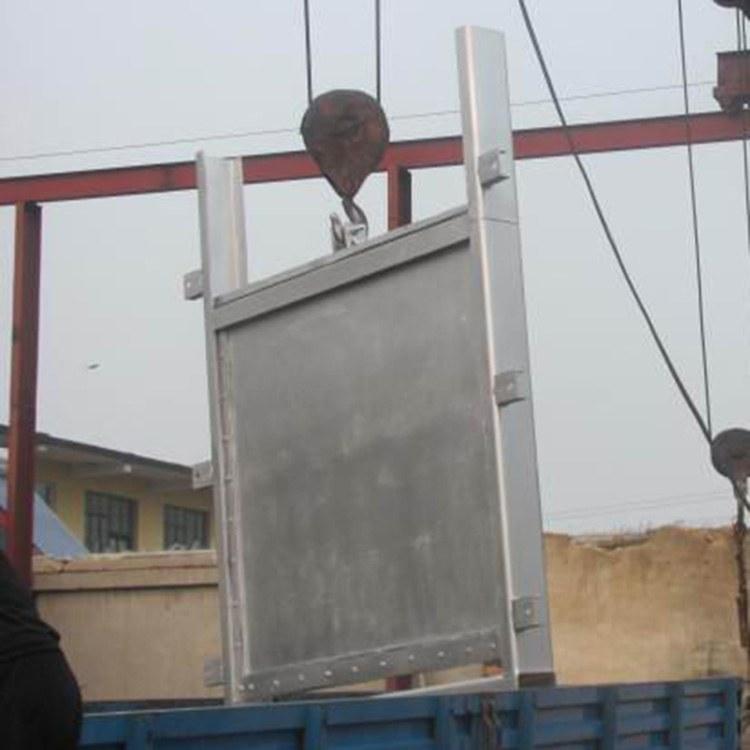 埔江水利 不锈钢闸门 渠道铸铁闸门 造价低 结构简单