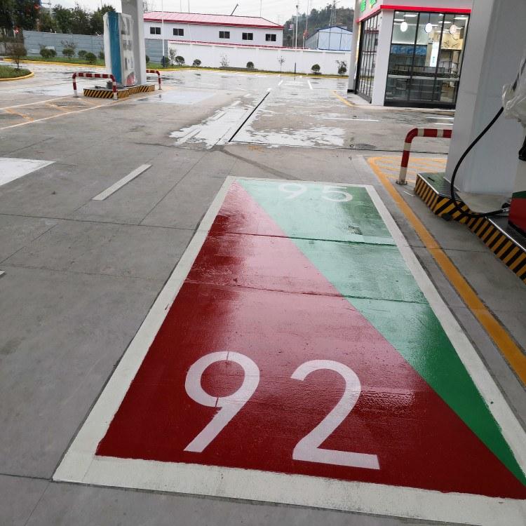 朝中建筑 重庆热熔划线  重庆专业定制冷涂划线 质量保证