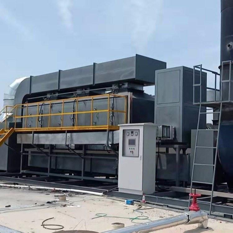 印刷厂废气处理设备 rco催化燃烧设备 rco有机废气处理装置 锐驰朗环保