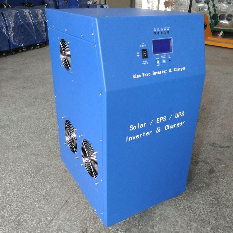 太阳能逆变器11KW48V转220V光伏离网工频逆变器
