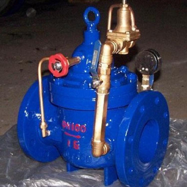 轩诚阀门厂专业生产  H142X液压水位控制阀  不锈钢微阻缓闭止回阀