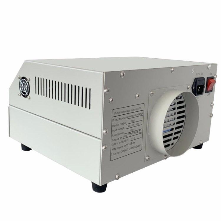 普惠升级版T-962红外智能SMT焊接设备PCB简易回流炉LED焊接炉泰安厂家包邮