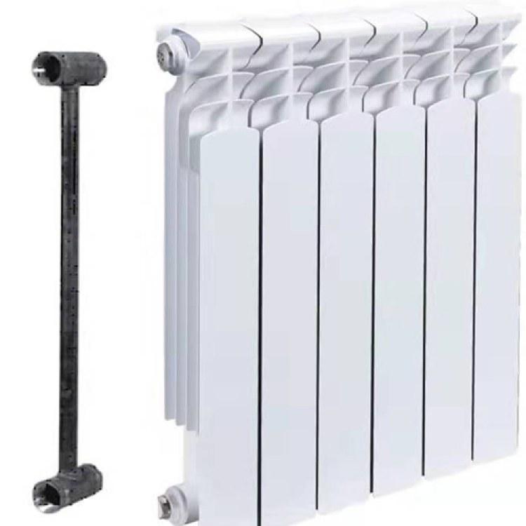 润恒暖通 压铸铝双金属焊接散热器 钢制板式散热器暖气片 铸铁暖气片柱型