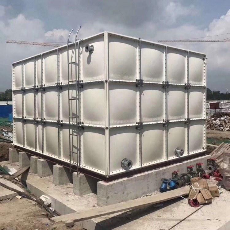 组合式玻璃钢水箱 生活用水水箱 品质保证 安全卫生