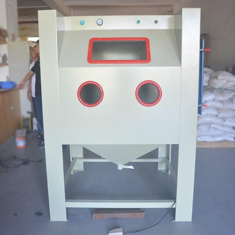 江西手动喷砂机1212大型喷砂机箱式环保喷砂机模具表面处理