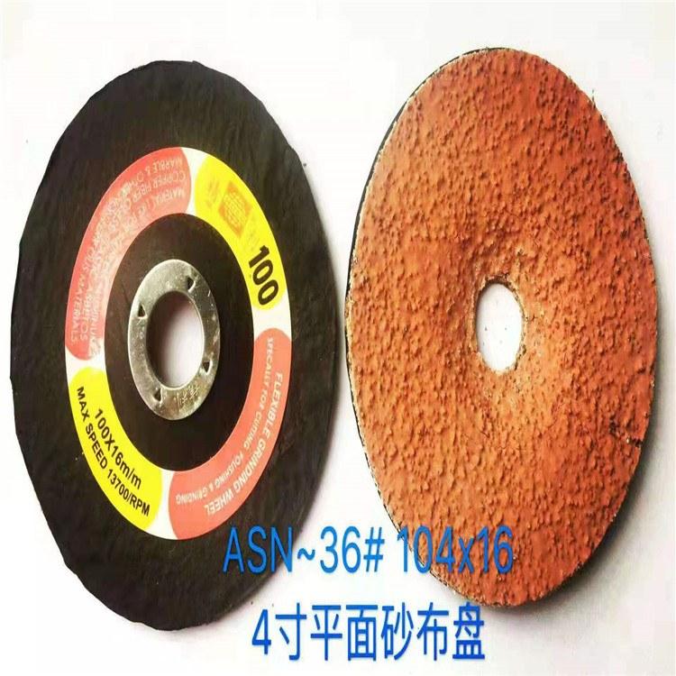 中国砂轮片 KINIK精利砂布盘 平面圆砂纸 可弯曲砂轮