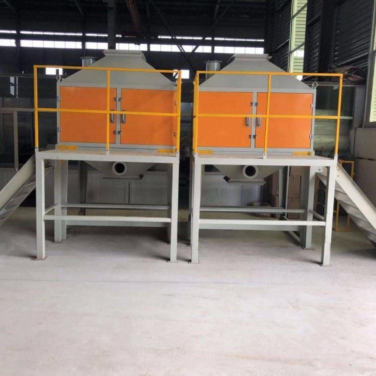 喷漆废气处理催化燃烧设备 活性炭吸附脱附装置 工业废气净化设备 蓄热式催化燃烧装置