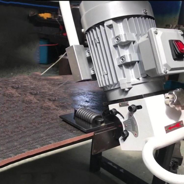 批发钢板倒角机 手持式电动坡口机 板材平板铣边机 森泰