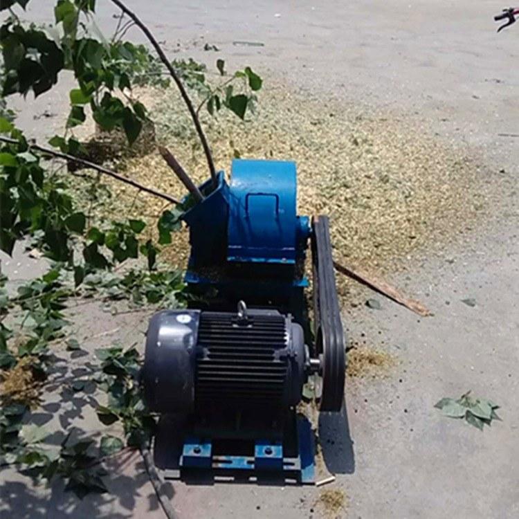 小型树枝粉碎机 多功能碎枝机 园林杂木枝条粉碎机