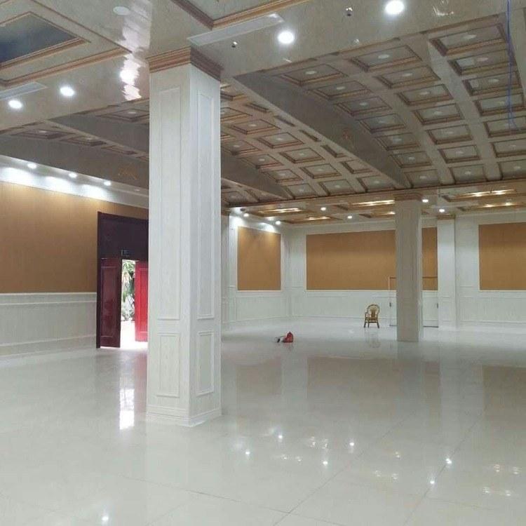 400竹木纤维集成墙板扣板护墙板室内吊顶快装防潮装修材料