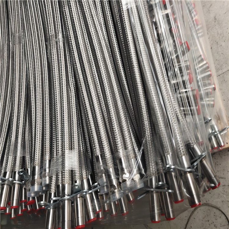 加工定制耐高温高压消防洒水软管 工程消防喷淋软管 不锈钢喷淋波纹管批发