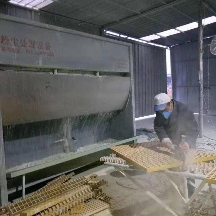 粉尘处理器 吸粉除尘 喷漆房水浴除尘器 盛飞水帘环保设备生产厂家