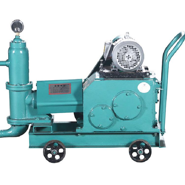 兴安内蒙古锡林郭勒 活塞式注浆泵 双缸双液活塞式灌浆机
