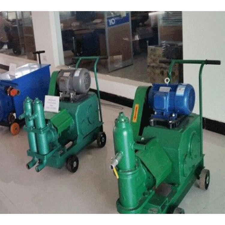 安徽亳州池州宣城 水泥灌浆机 双缸活塞式注浆机
