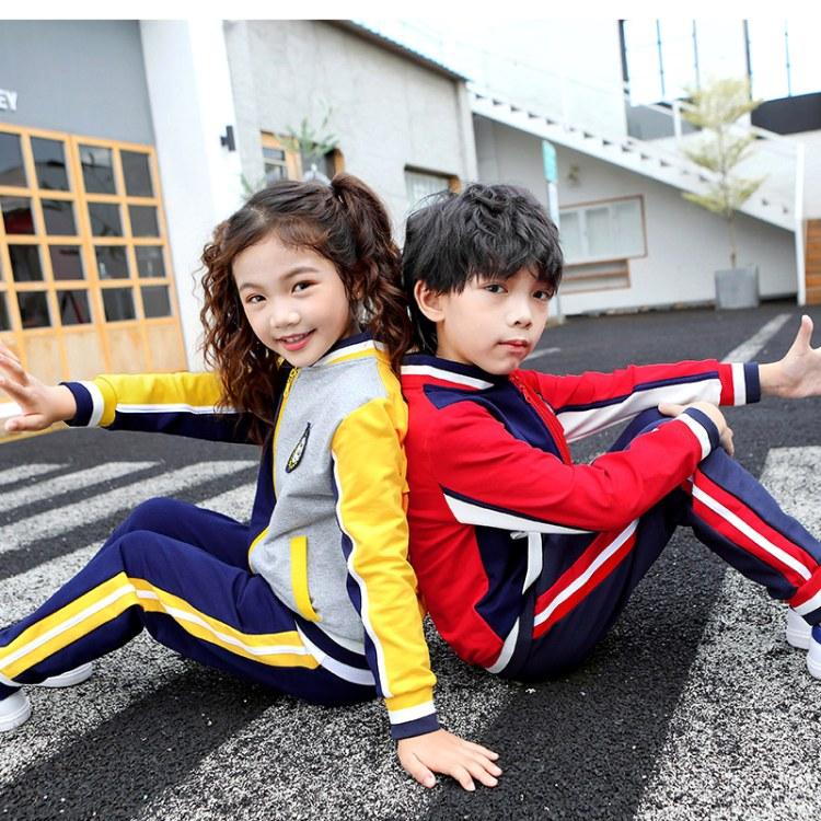 校服小学生春秋套装幼儿园园服班服运动会棒球服儿童老师服装定制
