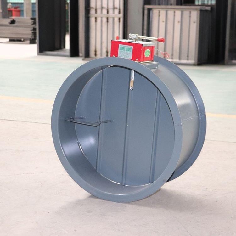 304可焊接排烟防火阀  厂家直销圆形不锈钢防火阀排烟口