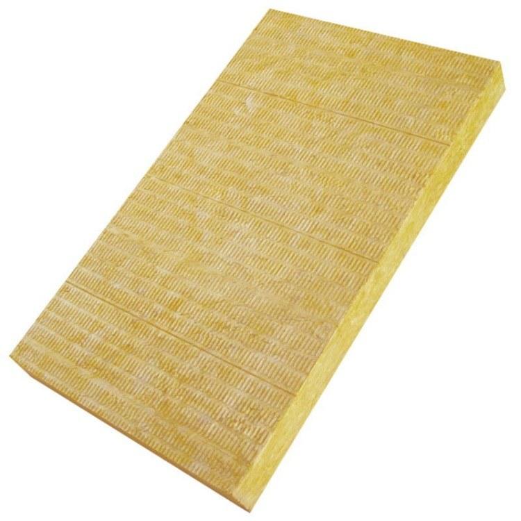 凌迦供应 阻燃复合岩棉板 幕墙保温干挂岩棉板 外墙防火保温材料