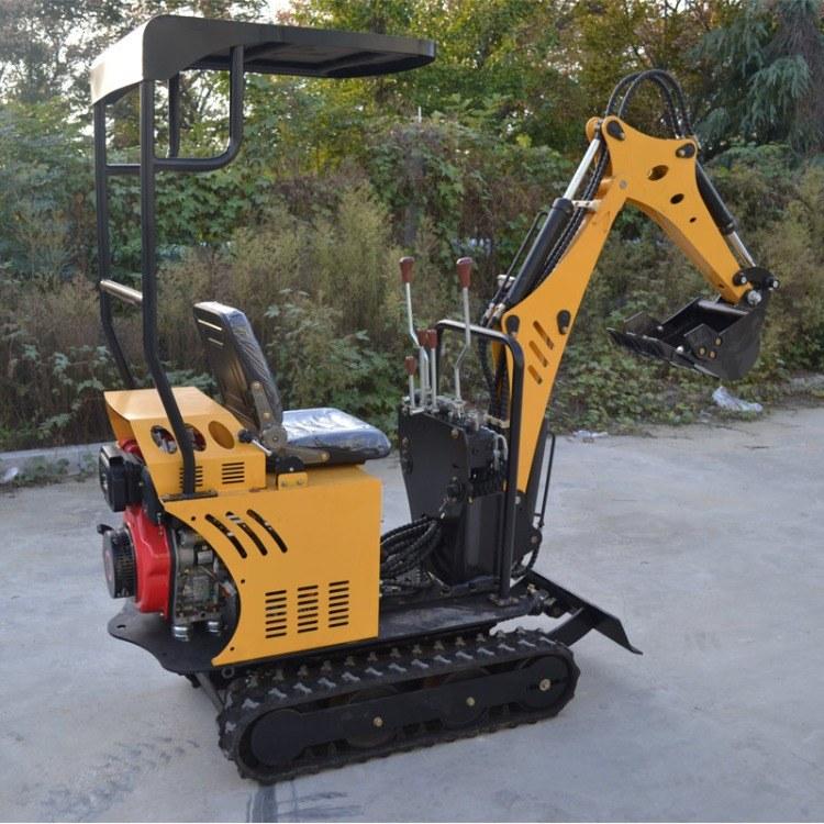 通华生产小型挖掘机型号齐全 小型果园农用挖掘机