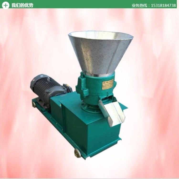 豆扁子玉米杆饲料颗粒机 直连式小型养殖场造粒设备