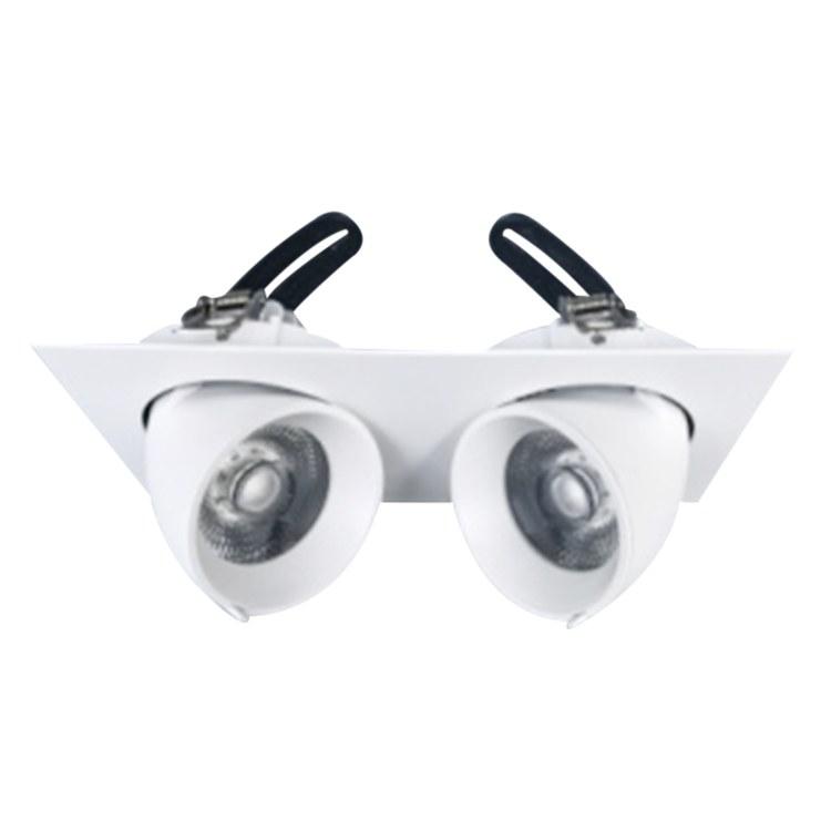 佛山柯迅照明 厂家直销 方形LED明装格栅灯 无边框COB方形格栅灯