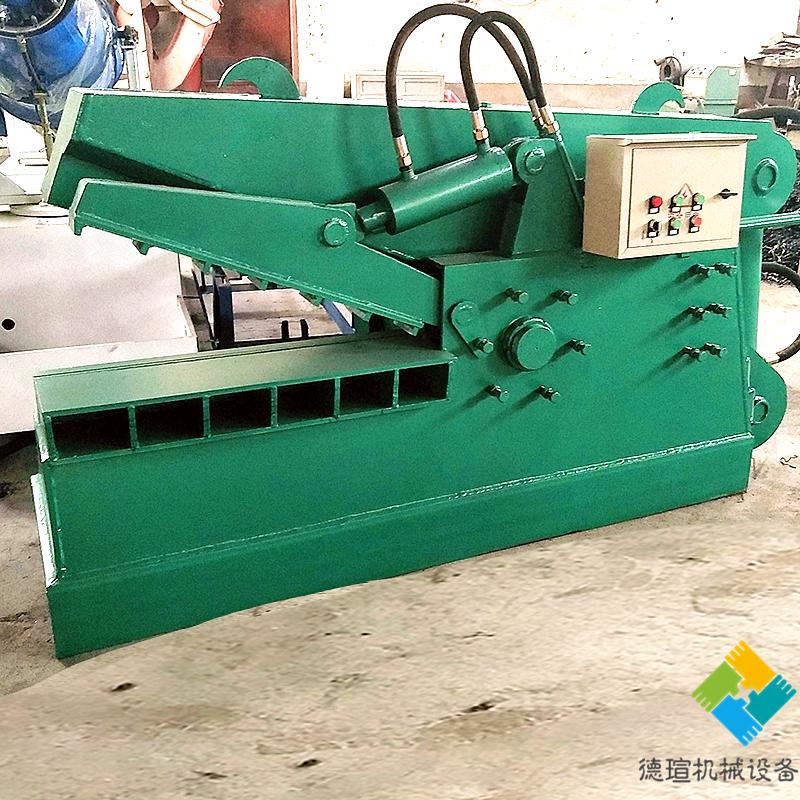 全新160吨鳄鱼式废金属剪切机 800型废铁自动剪切机价格