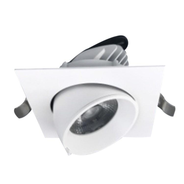 佛山柯迅照明 厂家直销 方形LED明装格栅灯 无边框COB方形格栅灯 店铺灯光设计
