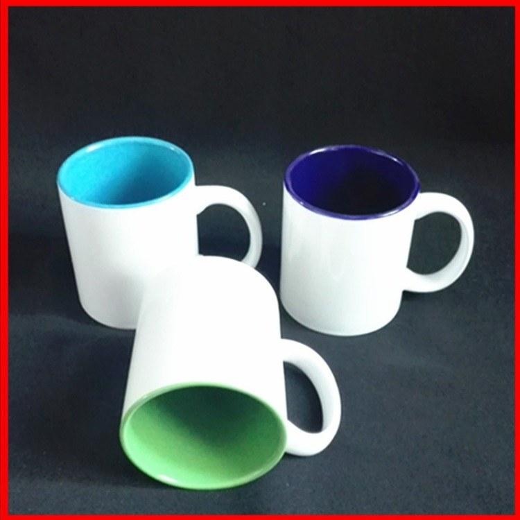 色釉杯子 创意广告促销加印logo实用马克杯 陶瓷杯咖啡杯量大优惠