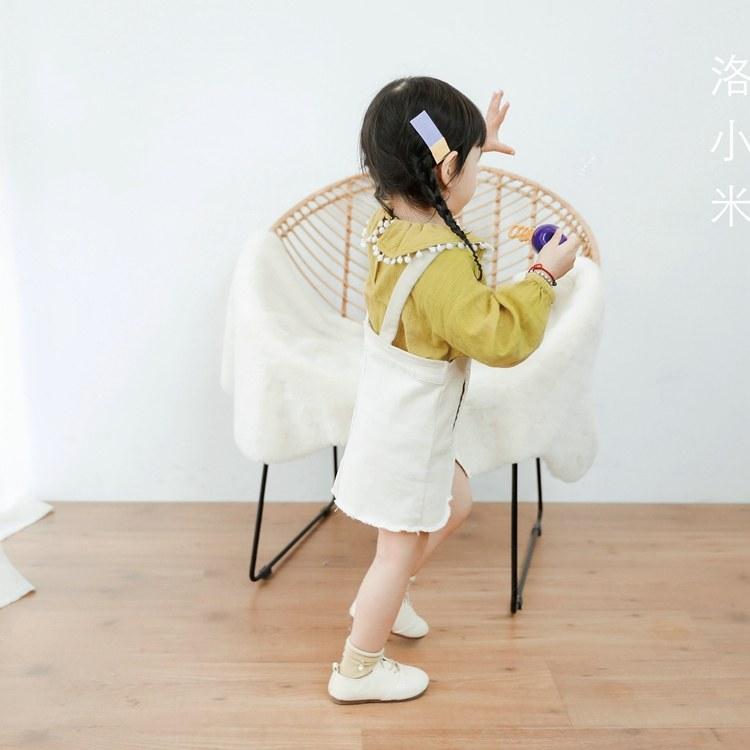 AR韩国服装货源 中长款儿童大衣 小熊可可高端童装渠道货源