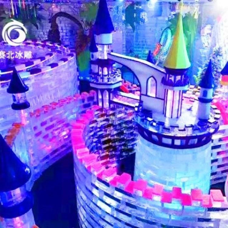 长沙冰雕馆 冰雪王国 创意冰雕制作