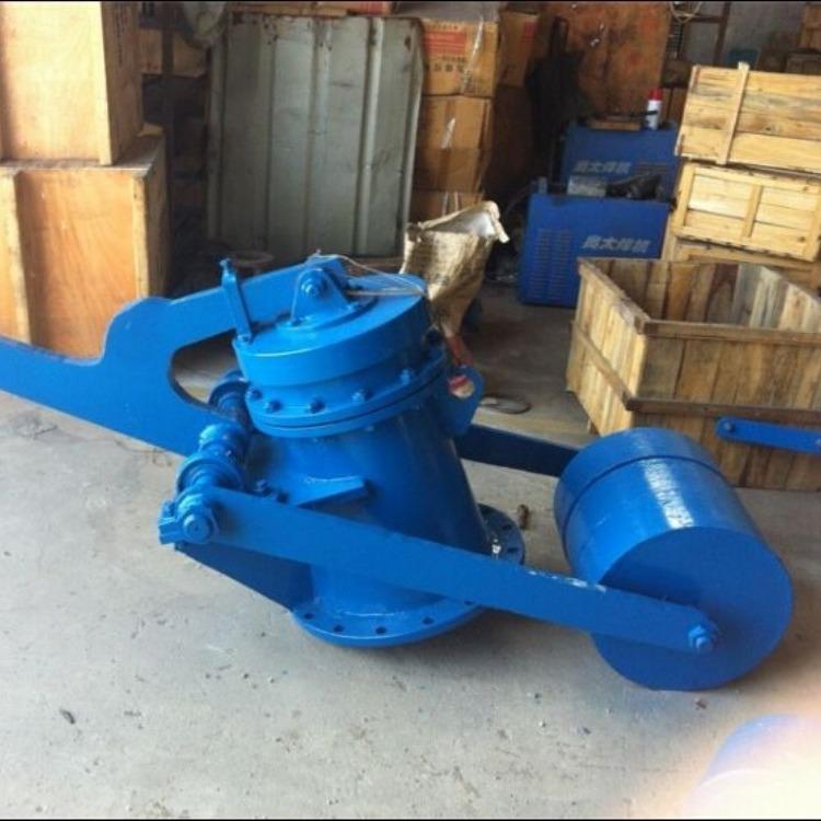 轩诚阀门厂专业生产  重锤式锁风翻板阀  SWDY风机专用调节阀