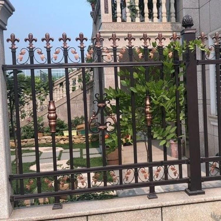祥辉金属   铝艺护栏   阳台铝艺栏杆  楼梯扶手   院子外铝合金围栏