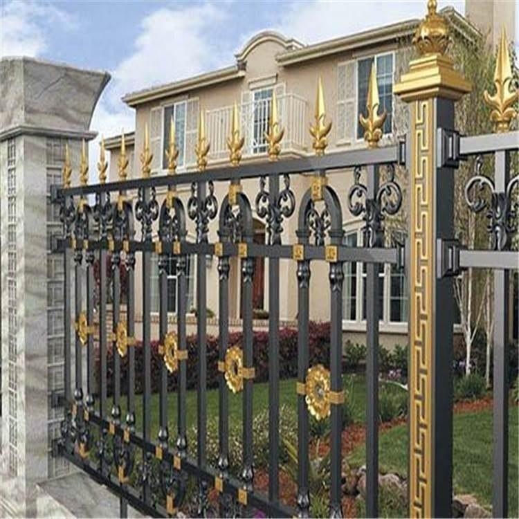 潍坊临朐-铝艺护栏-豪华铝艺栏杆-欧式围栏-阳台护栏-楼梯扶手