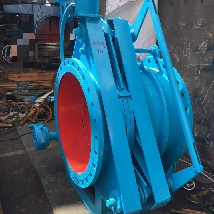 轩诚阀门厂专业生产  液动盲板阀  YPM浮箱式拍门