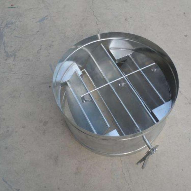 轩诚阀门厂专业生产  手动扇形盲板阀  LC-I手动调节插板阀
