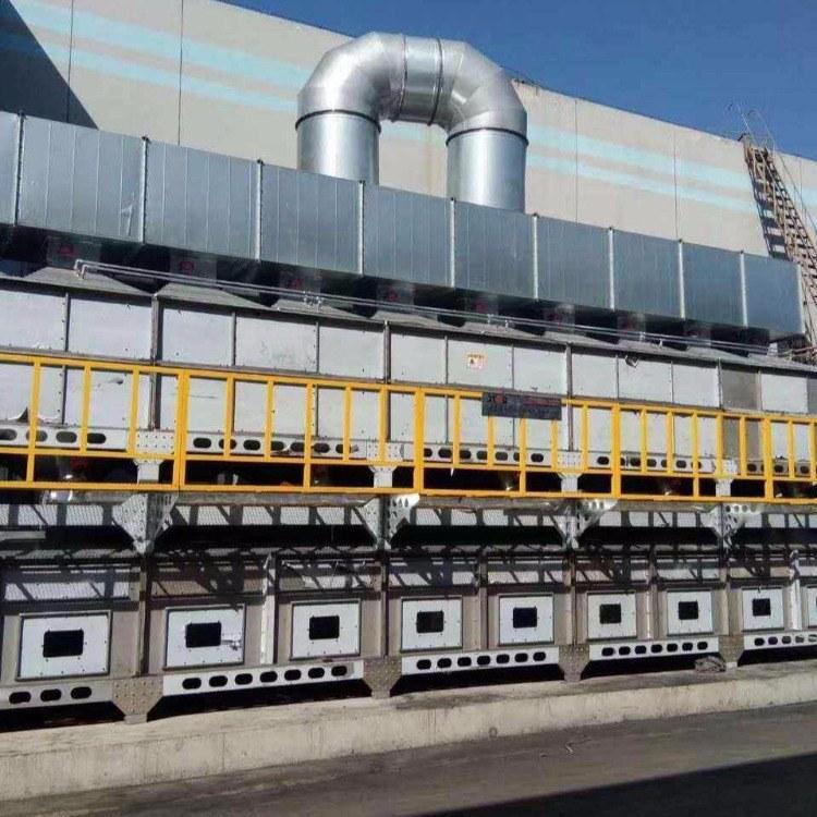 rto蓄热式焚烧炉沸石转轮蓄热焚烧炉 喷漆电子橡胶vocs废气处理设施