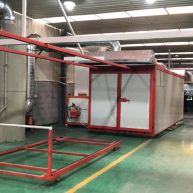 厂家定制环保型喷砂房 机械回收式喷砂房 供应打砂房 科涂机械