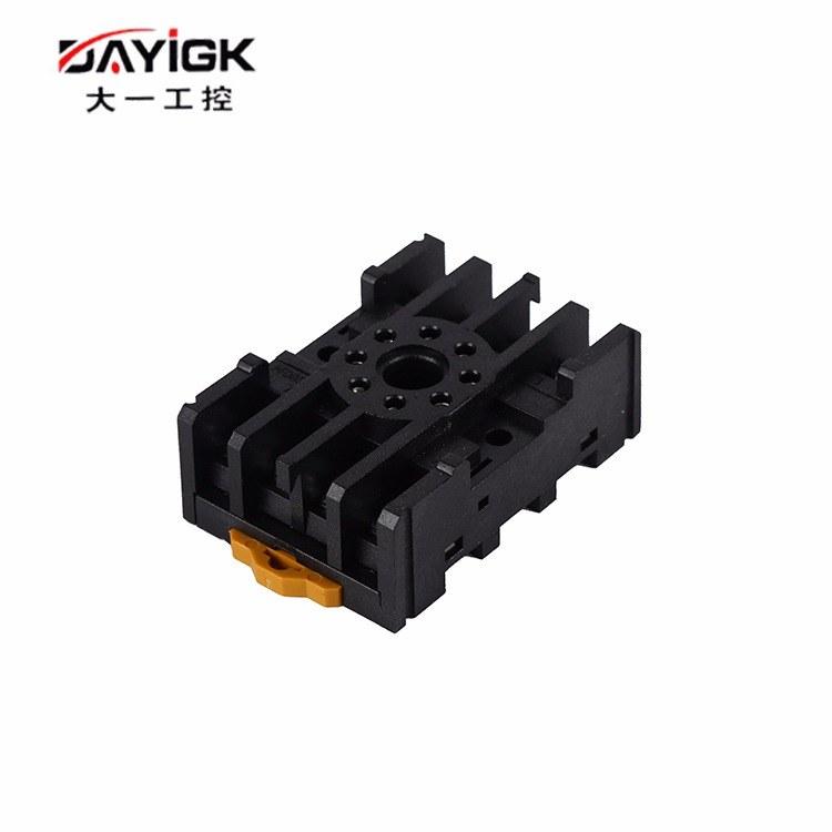 供应厂家直销 继电器插座PF085A 小型继电器插座厂家