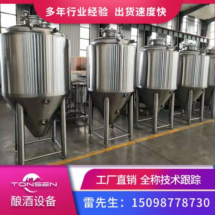 汤宸定制800L精酿啤酒发酵罐 酿造设备 啤酒厂项目一站式服务