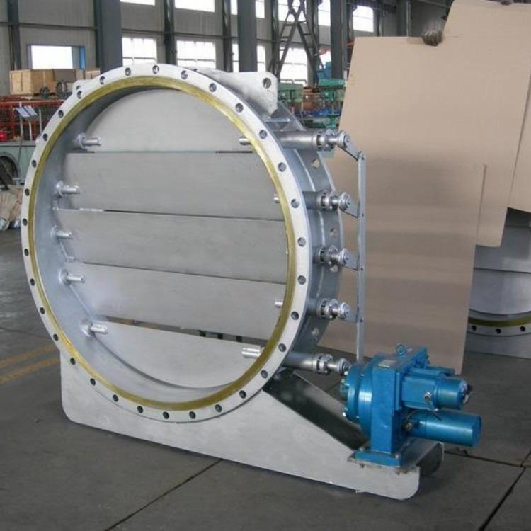 轩诚阀门厂专业生产  手动调节插板阀  F743X液动盲板阀