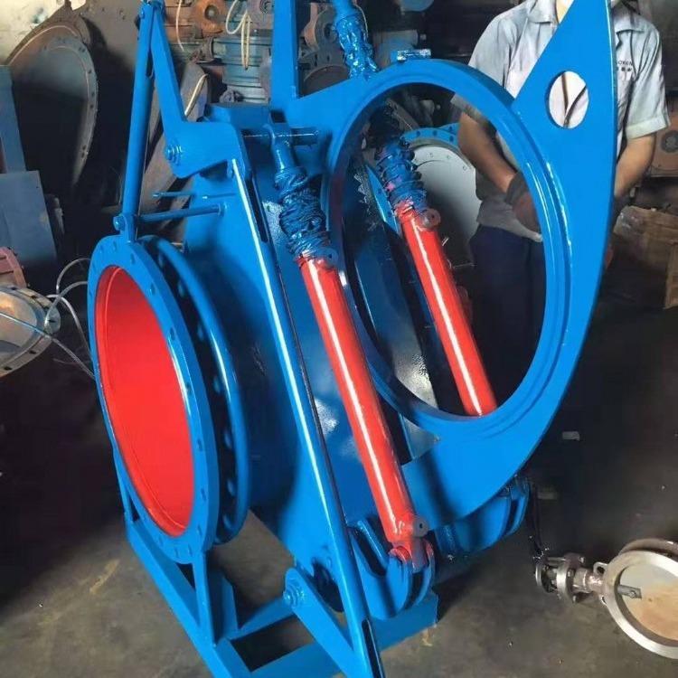 轩诚阀门厂专业生产  叠梁闸  D241W电液动通风蝶阀
