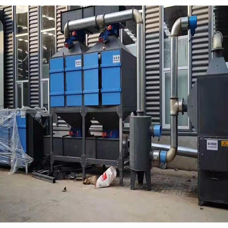 锐驰朗催化燃烧设备 CO设备有机废气处理 10000风量催化燃烧炉处理