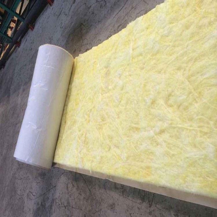 河企玻璃棉卷毡防火阻燃吸音棉墙体填充隔音棉玻璃纤维棉卷毡室内隔热保温