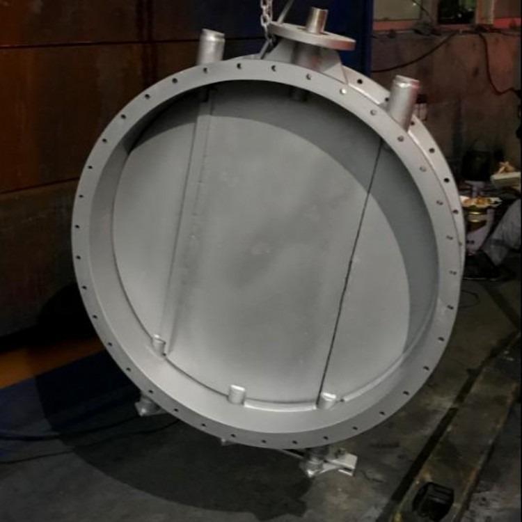轩诚阀门厂专业生产  圆形手动插板阀  DFC-IV电动四通分料阀