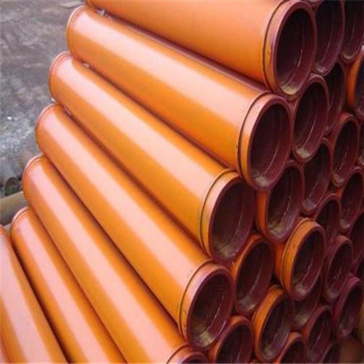 通润管道生产 地泵管 胶管 耐磨管 管卡 砼泵配件