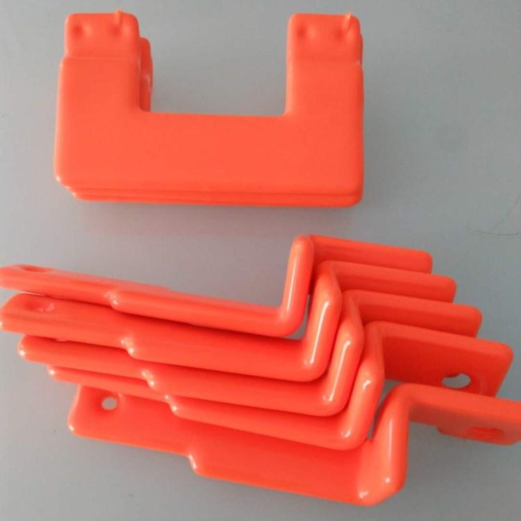 正睿厂家直销 塑料堵头 闷头 阀门防滑手柄套 pvc浸塑加工 沾塑加工 扁平护套 整体pvc浸塑产品