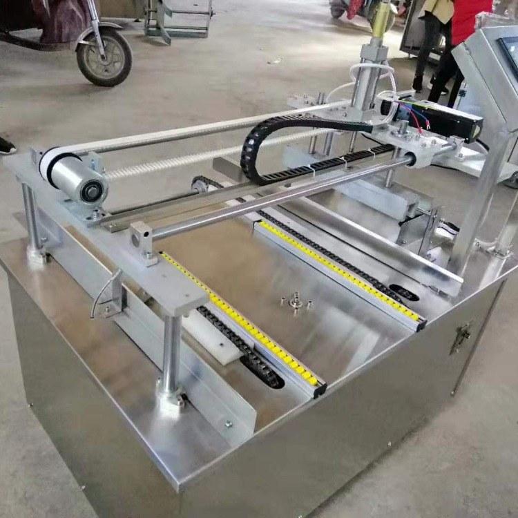 烘焙专用面包数控刷蛋机-食品机械生产线