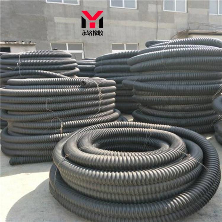 直销圆形塑料波纹管 PVC塑料波纹管生产厂家支持定做
