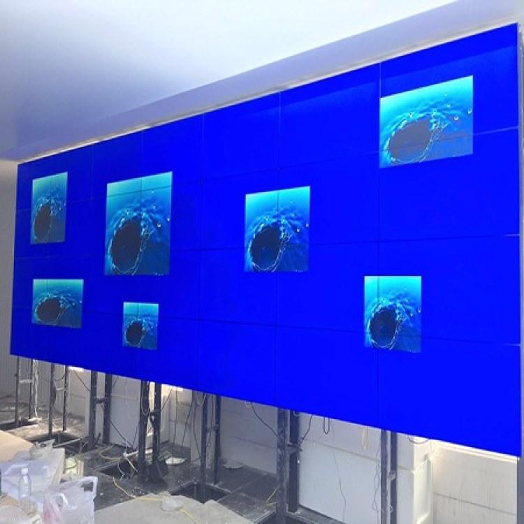 桐乡液晶拼接屏厂家直销电视墙安防视频监控LED液晶窄边拼接图像显示器商用大屏