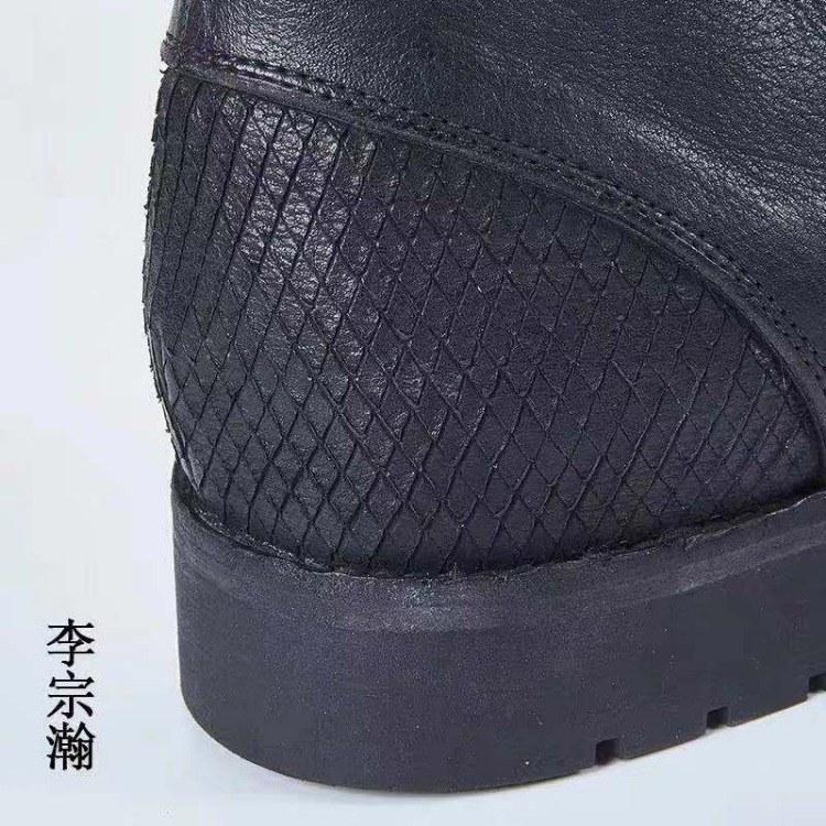 男鞋高帮工装马丁靴 高帮工装马丁靴批发